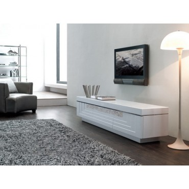 Designer MDF Wood With Painting TV Stand