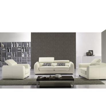 Warwick top graded real leather sofa suite