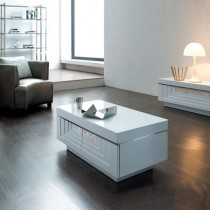 Designer Solid MDF Wood Coffee Table