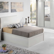 Rugby White King Slim Headboard