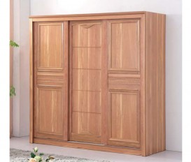 Alexandra 180Cm Wardrobe with 3 Wooden Door