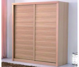 Victoria 160Cm Wardrobe with 2 Wooden Door