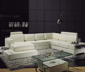Tradition Top Graded Real Leather Corner Sofa Suite