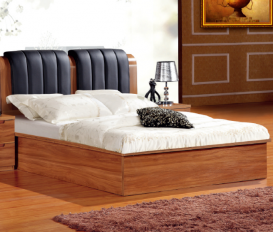 Walnut King Bed